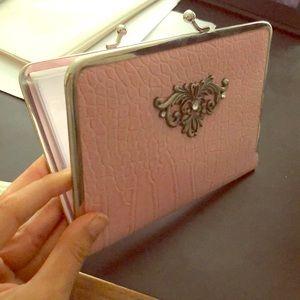 Cutest Pink Wallet Photo Album
